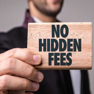 No Hidden Fees & Charges Loans